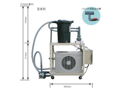 冷却殺菌濾過ユニット 通常システム価格 730,000円(税別) 特別... 冷却濾過殺菌システ